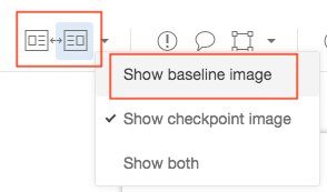 Download baseline/actual images from the Dashboard – Applitools