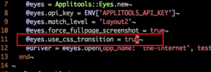 Screenshotting – Applitools